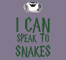 I Can Speak To Snakes Kids Tee