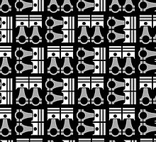 Piston Pattern  by Benjamin Whealing