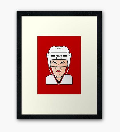 Grumpy Capt. Framed Print