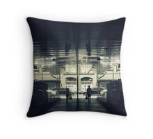 Transport Lock Throw Pillow