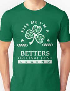 BETTERS Kiss me I am - T Shirt, Hoodie, Hoodies, Year, Birthday, Patrick's day T-Shirt
