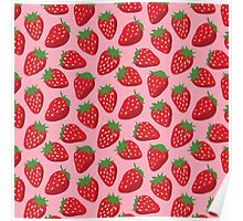 Sweet Strawberries Poster