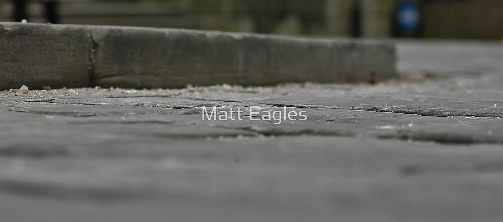 street level kerb by Matt Eagles