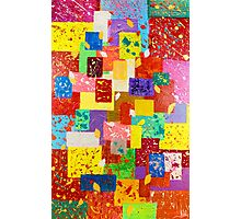 Contemporary Abstract  Photographic Print