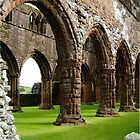 Sweetheart Abbey... Scotland by Marilyn Grimble