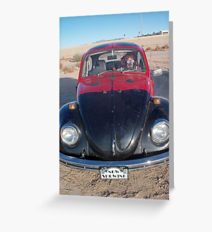 Lady Beetle Man Greeting Card