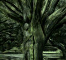 Live Oak Tree Sticker
