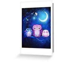 Night Owls  Greeting Card