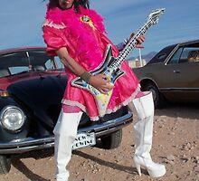 The Queen of Rock by jollykangaroo