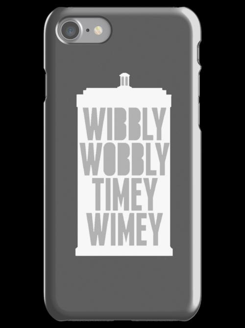 Wibbly Wobbly Timey Wimey (Grey) by roisinmcgee