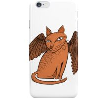 Winged cat iPhone Case/Skin