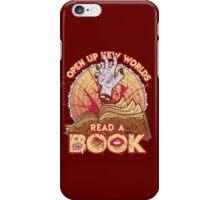 Read a Damn'd Book iPhone Case/Skin