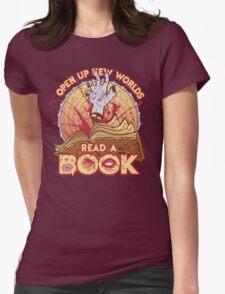 Read a Damn'd Book Womens Fitted T-Shirt