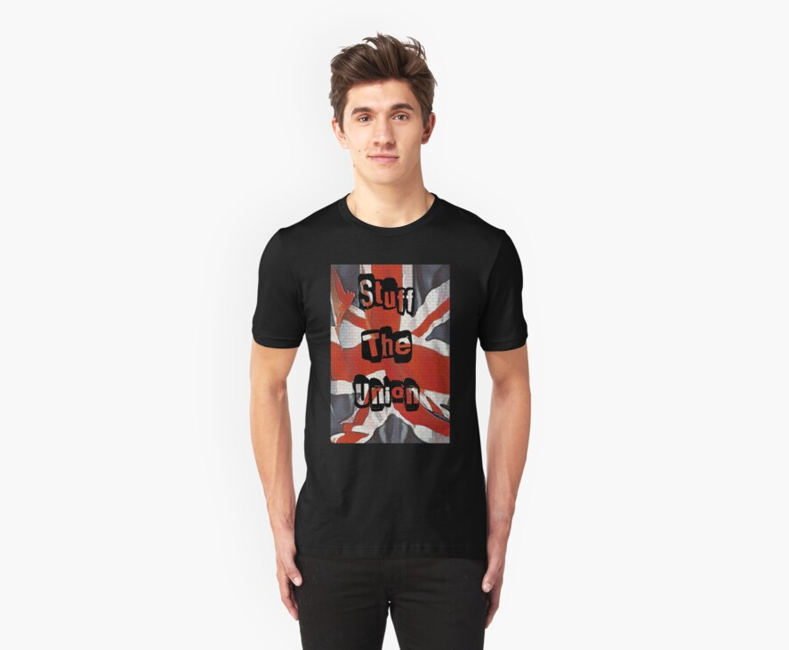 Stuff the Union Scottish Independence T-Shirt by simpsonvisuals