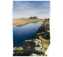 Crag Lough from Hadrian's Wall Poster