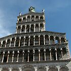 San Michele in Foro, Lucca by hans p olsen