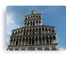 San Michele in Foro, Lucca Canvas Print