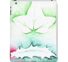 'Holly & Ivy' Christmas design - Aquamarkers. iPad Case/Skin