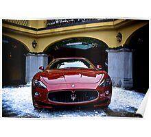 Maserati GT sport cabrio Poster