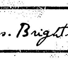 Mrs. Brightside Sticker