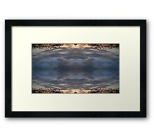 Sky Art 7 Framed Print