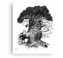 Quircus Stompus Canvas Print