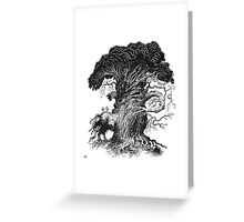 Quircus Stompus Greeting Card