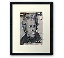 President Jackson Framed Print