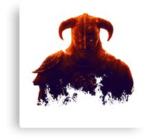 Dovakhiin in flames Canvas Print