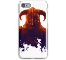 Dovakhiin in flames iPhone Case/Skin