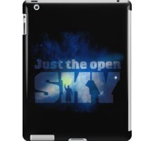 Just the Open Sky iPad Case/Skin