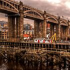 HDR Tyne High Level Bridge by Andrew Pounder