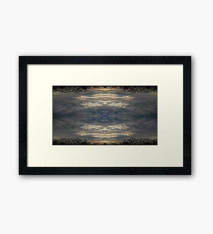 Sky Art 37 Framed Print
