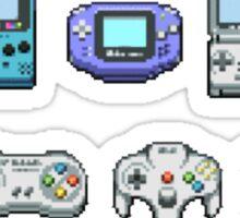 Nintendo Controller Family  Sticker