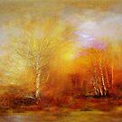 Russet Lane'... by Valerie Anne Kelly