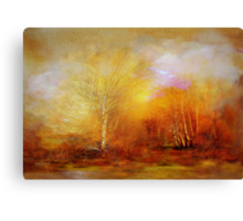 Russet Lane'... Canvas Print