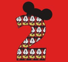 Second birthday Mickey Mouse by sweetsisters