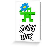 SPRING TIME Greeting Card