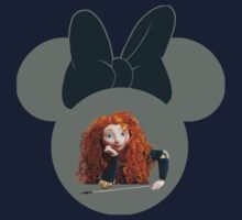 Merida Minnie Mouse by sweetsisters
