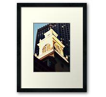 Old State House Steeple, Boston, Massachusetts Framed Print