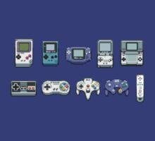 Nintendo Controller Family  by jaffrywardjr