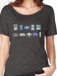Nintendo Controller Family  Women's Relaxed Fit T-Shirt