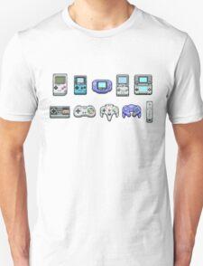 Nintendo Controller Family  Unisex T-Shirt