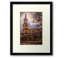 HDR All Saints Church Framed Print