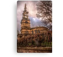 HDR All Saints Church Canvas Print