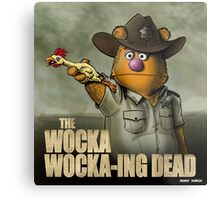 The Wocka Wocka-ing Dead Metal Print