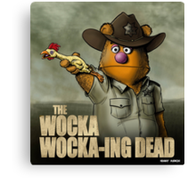 The Wocka Wocka-ing Dead Canvas Print