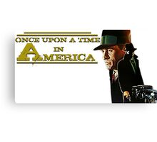 Once upon a time in America - Film Vintage Canvas Print