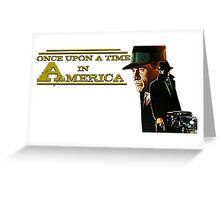 Once upon a time in America - Film Vintage Greeting Card