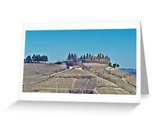 Church among the Vineyards Greeting Card